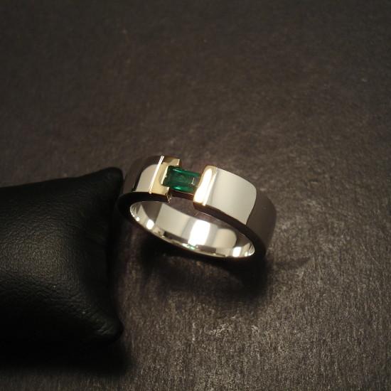 Zambian Emerald Ring Christopher William Sydney