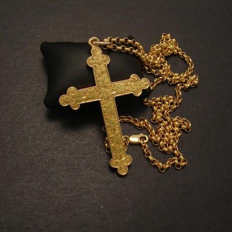 Gold pendants christopher william sydney australia antique ruby cross pendant english gold antique aloadofball Image collections