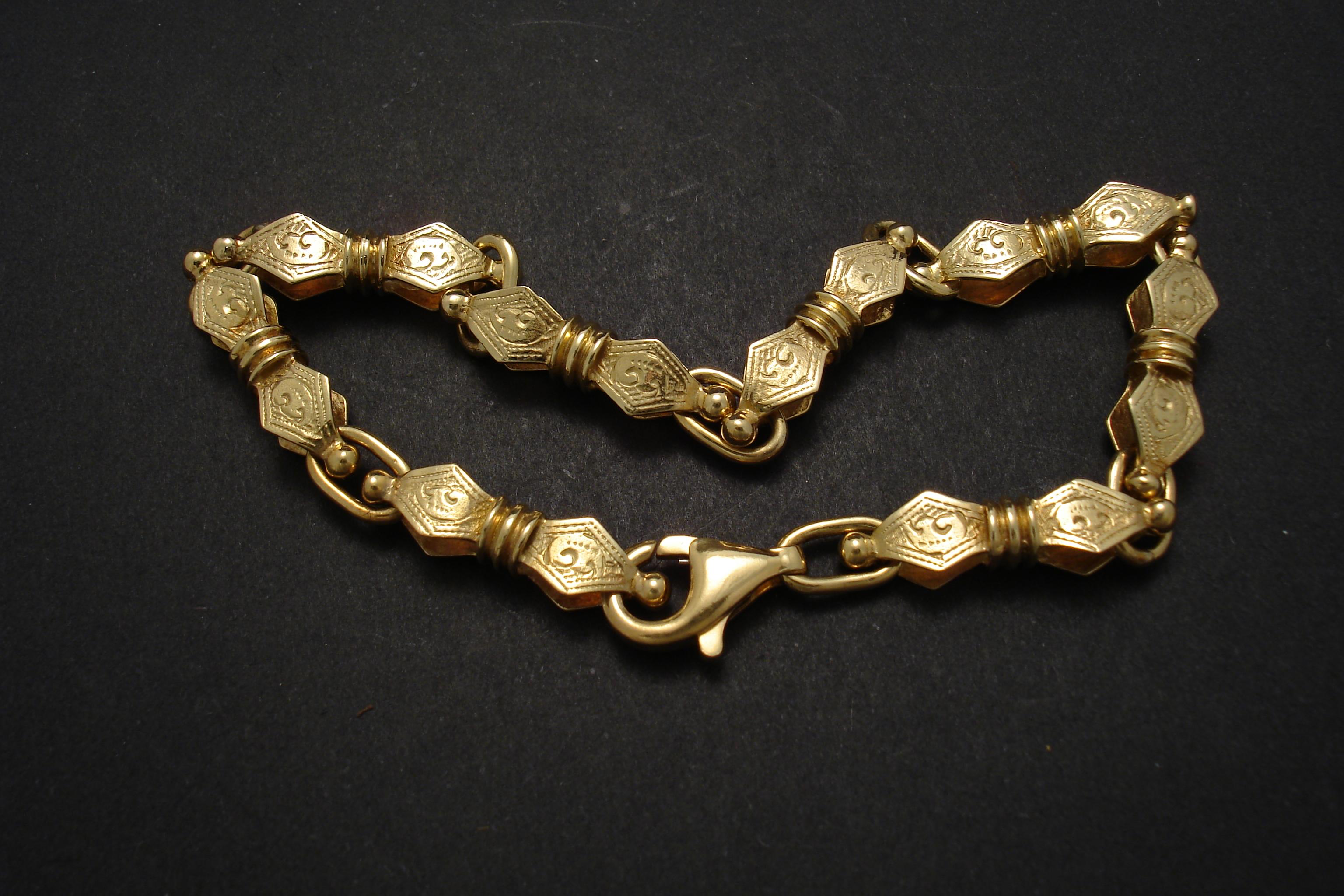 Gold Bracelets - Christopher William Sydney Australia - Antique ...
