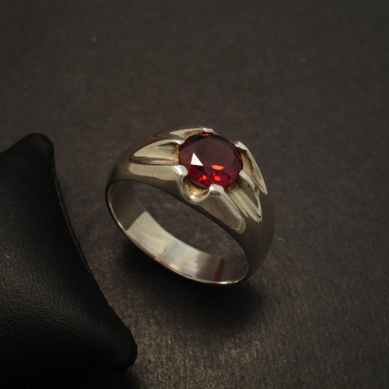 mens-dress-ring-silver-6claw-8mm-garnet-09725.jpg