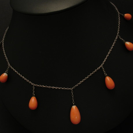 coral-teardrops-7-silver chain-antique-00157.jpg