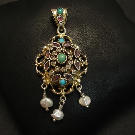 austro-hungarian-antique-silver-momento-pendant