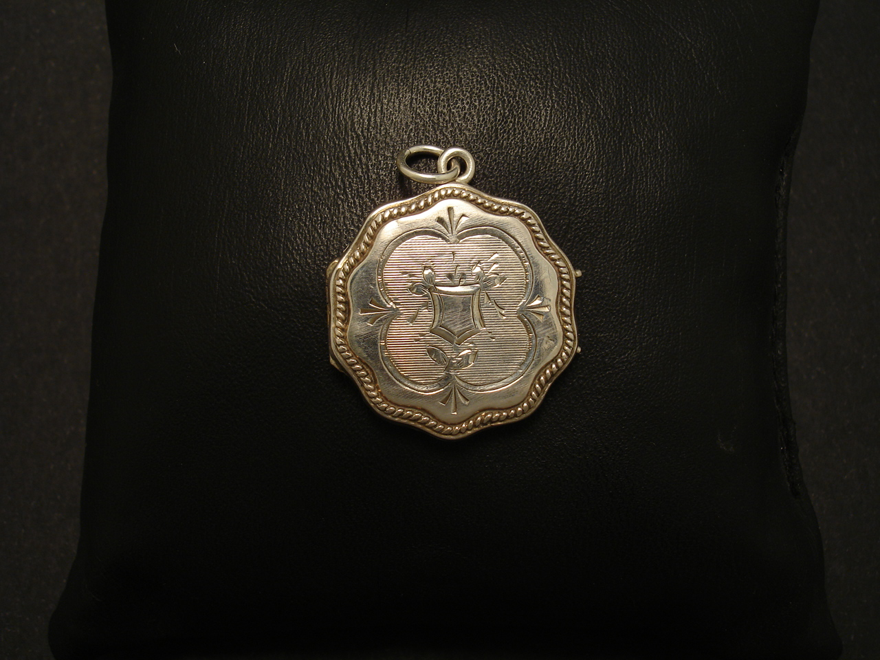 So French Antique Silver Locket Christopher William