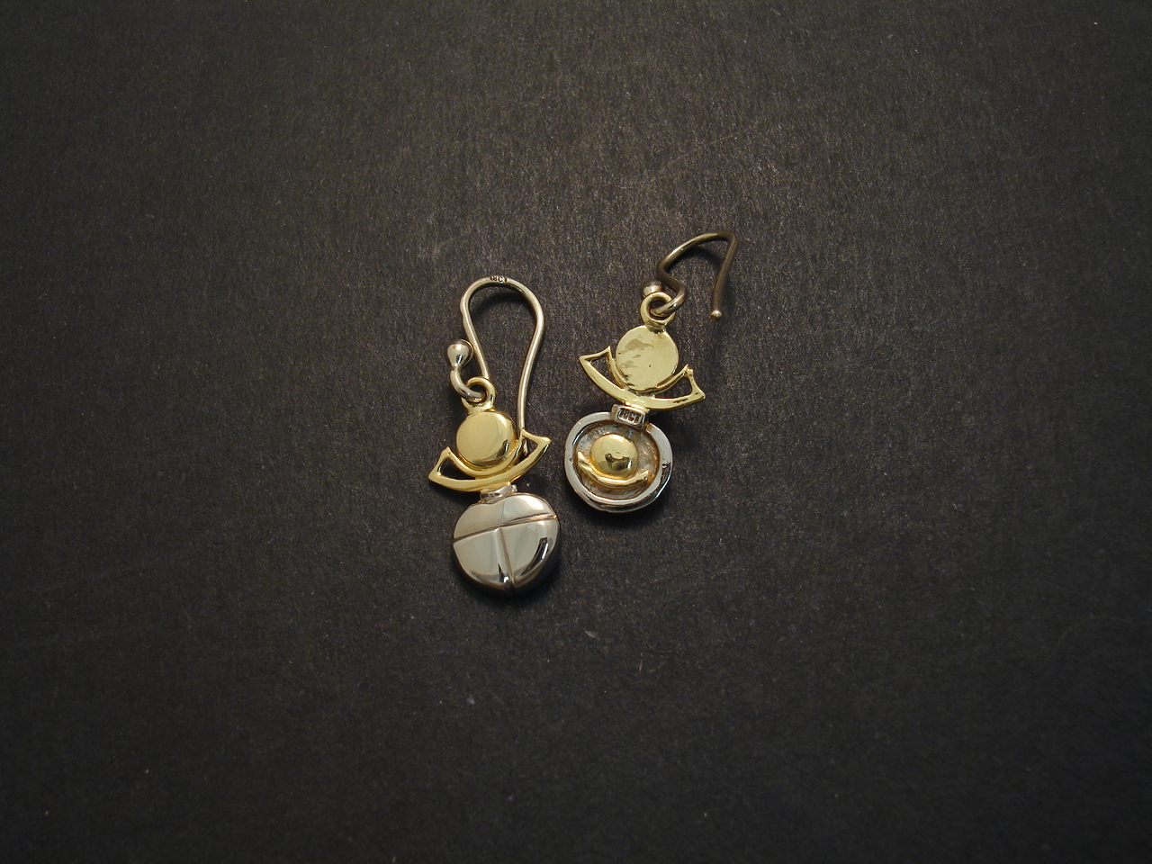 18ctGold Ancient Egypt Scarab Earrings - Christopher ...