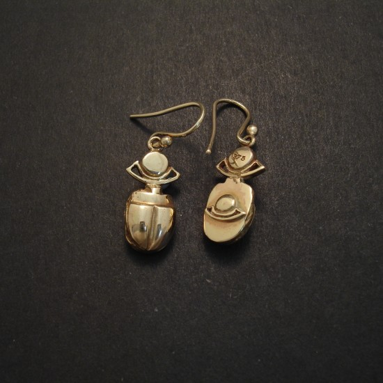 collection silver teardrop earrings egyptian dsc collections copper jewelry ancient bronze