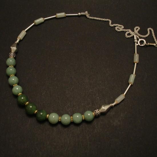 jade-green-gemstones-silver-necklace