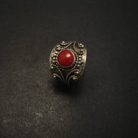8mm-round-red-coral-handmade-silver-ring-07146.jpg
