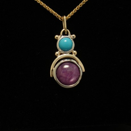 agrade-turquoise-star-ruby-gold-silver-pendant-02897.jpg