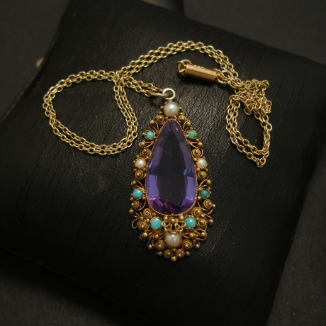 regency-9ct-gold0amethyst-teardrop-pendant-chain-03629.jpg