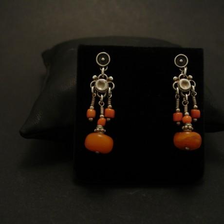 amber-old-tibetan-tribal-silver-coral-earrings-03977.jpg
