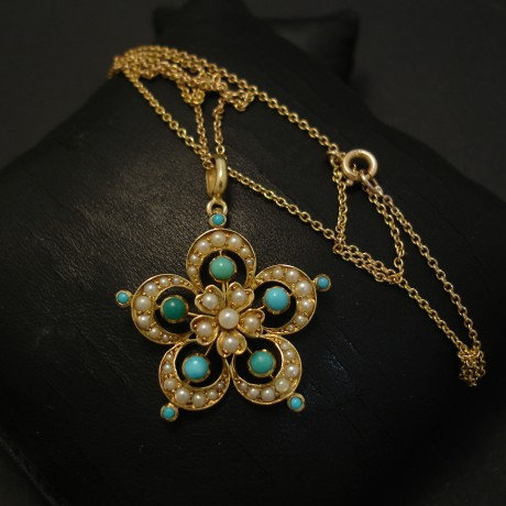 15ct-gold-turquoise-pearl-pendant-necklace-04281.jpg