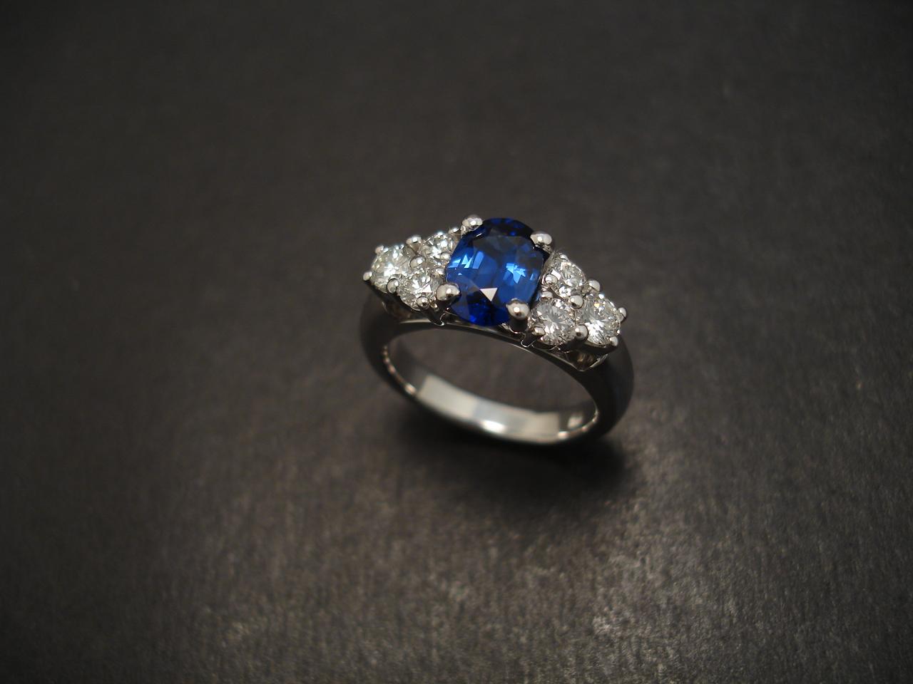 sydney masterwork sapphire engagement ring christopher