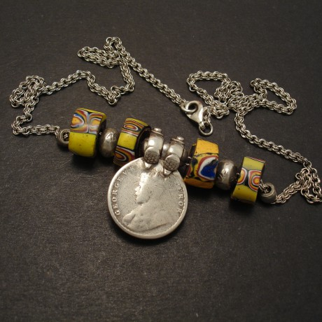 trade-beads-quarter-rupee-silver-chain-necklace-07874
