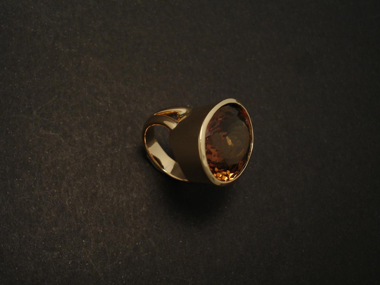 Customer S Imperial Topaz Custom Handmade Ring