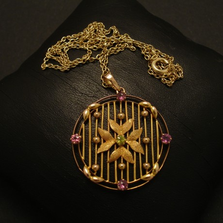 handcrafted-georgian-9ctgold-round-pendant-02708.jpgold-round-pendant-02708