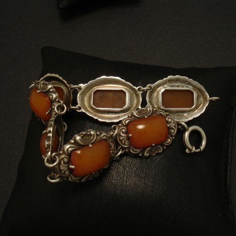 north-european-amber-silver-1930s-bracelet