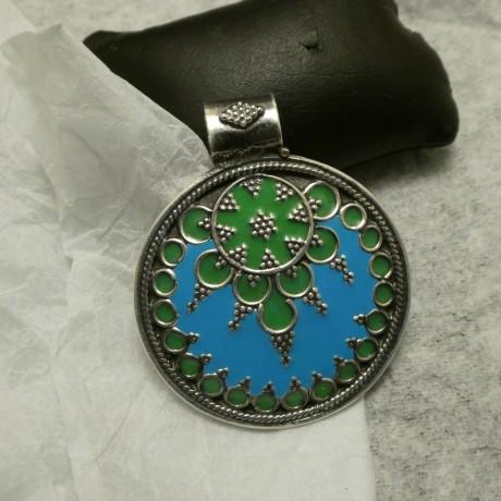 rajasthan-enamelled-silver-pendant-10625.jpg