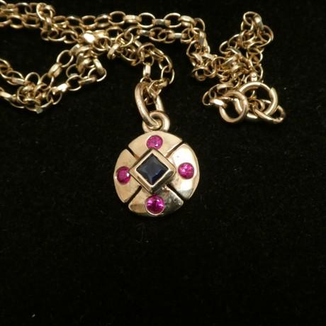bright-agrade-rubies-sapphire-square-pendant-9ctgold-00495.jpg