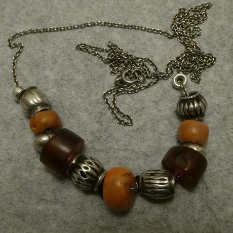 old-tibetan-corals-naga-amber-silver-chain-necklace-10085.jpg