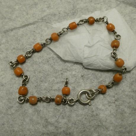 native-cut-old-coral-silver-link-bracelet-10579.jpg